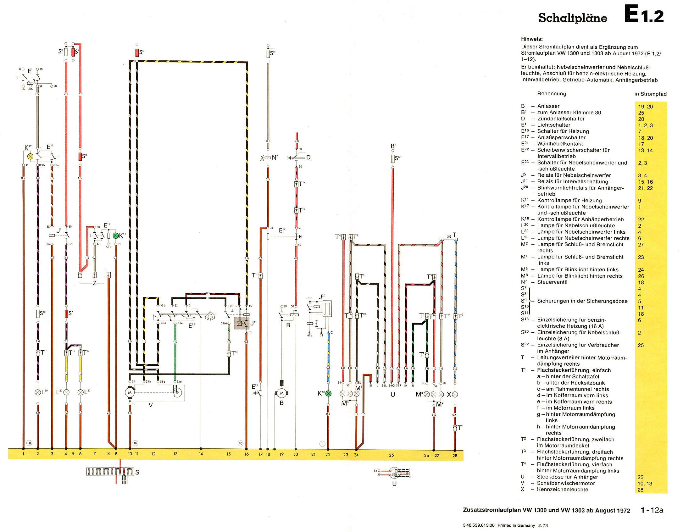 elektrischen Wischwassermotor über Lenkstockhebel betätigen ...